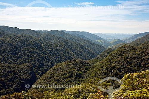 Assunto: Vista do Vale do Betary  / Local: Iporanga - São Paulo (SP) - Brasil / Data: 02/2012