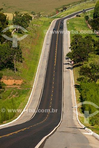 Assunto: Rodovia Estadual Francisco Alves Negrão - Trecho da Rodovia SP-258  / Local: Itaberá - São Paulo (SP) - Brasil / Data: 01/2012
