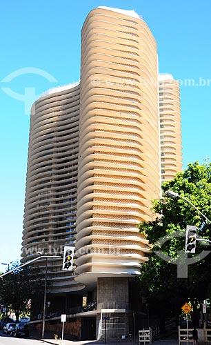 Assunto: Edifício Niemeyer - Projeto de Oscar Niemeyer / Local: Belo Horizonte - Minas Gerais (MG) - Brasil / Data: 06/2012