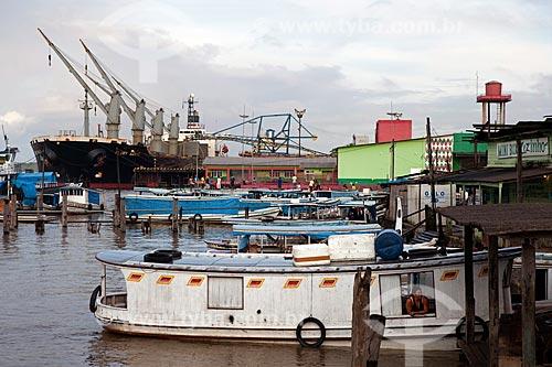 Assunto: Vista do Porto de Santana / Local: Santana - Amapá (AP) - Brasil / Data: 04/2012