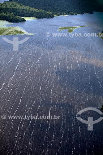 Assunto: Vista aérea da Reserva Biológica Lago Piratuba / Local: Amapá (AP) - Brasil / Data: 04/2012