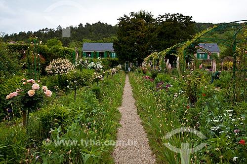 Assunto: Vista do Jardim de Claude Monet / Local: Giverny - França - Europa / Data: 06/2012
