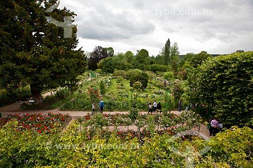 Assunto: Pessoas passeando no Jardim de Claude Monet / Local: Giverny - França - Europa / Data: 06/2012