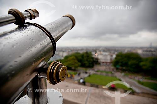 Assunto: Luneta na Igreja Basílica de Sacre Couer / Local: Montmartre - Paris - França - Europa / Data: 06/2012