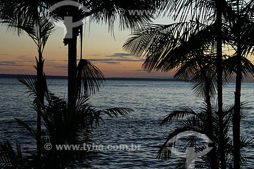 Assunto: Rio Negro visto da praia de Ponta Negra  / Local: Manaus - Amazonas (AM) - Brasil / Data: 06/2012