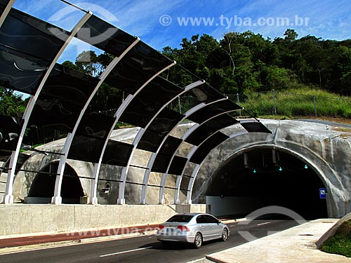 Assunto: Túnel da Grota Funda (Túnel Vice-Presidente da República José de Alencar) / Local: Vargem Grande - Rio de Janeiro (RJ) - Brasil / Data: 07/2012