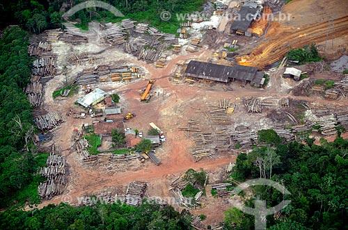 Assunto: Madeireira em Buriticupu / Local: Buriticupu - Maranhão (MA) - Brasil / Data: 05/2012