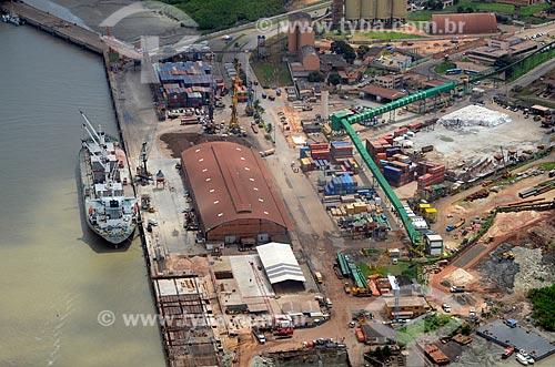 Assunto: Carregamento de ferro-gusa no Porto de Itaqui - Terminal Marítimo de Ponta da Madeira - Bacia de São Marcos / Local: São Luís - Maranhão (MA) - Brasil / Data: 05/2012