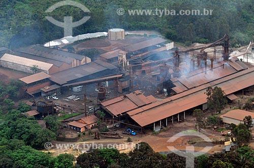 Assunto: Vista aérea da Usina Gusa Nordeste / Local: Açailândia - Maranhão (MA) - Brasil / Data: 05/2012