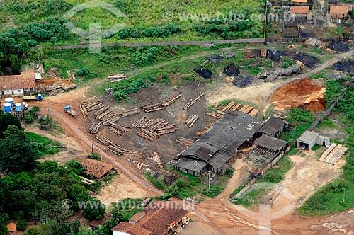 Assunto: Madeireira em Buriticupu. / Local: Buriticupu - Maranhão (MA) - Brasil / Data: 05/2012