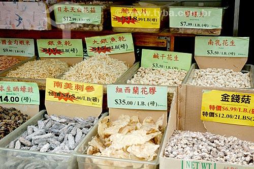 Assunto: Comércio em bairro chinês de Nova York / Local: Nova Iorque - Estados Unidos da América - EUA / Data: 10/2008