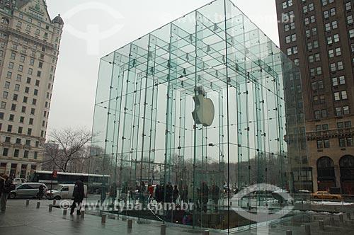Assunto: Loja da Apple na 5ª avenida / Local: Nova Iorque - Estados Unidos da América - EUA / Data: 01/2009