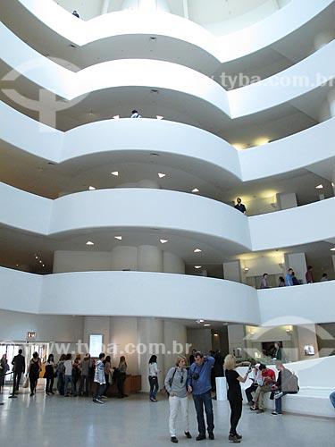 Assunto: Museu Solomon Robert Guggenheim / Local: Nova Iorque - Estados Unidos da América - EUA / Data: 03/2012