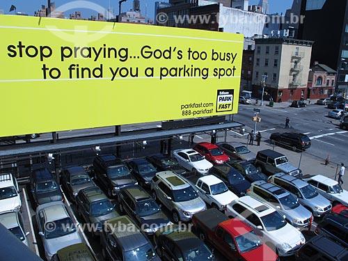 Assunto: Estacionamento de carros / Local: Nova Iorque - Estados Unidos da América - EUA / Data: 03/2012