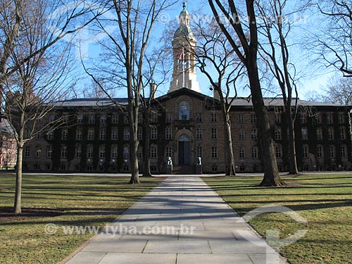 Assunto: Fachada da Universidade de Princeton / Local: Princeton - Nova Jersey - Estados Unidos da América - EUA / Data: 01/1980
