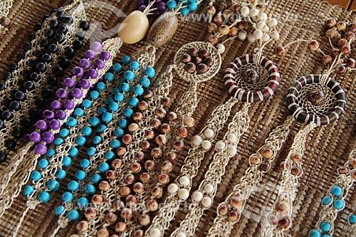 Assunto: Artesanato à venda durante o Festival de Folclore de Parintins / Local: Parintins - Amazonas (AM) - Brasil / Data: 06/2012