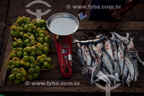 Assunto: Mercado na Rampa de Santa Inês (Rampa do Açaí) / Local: Macapá - Amapá (AP) - Brasil / Data: 04/2012