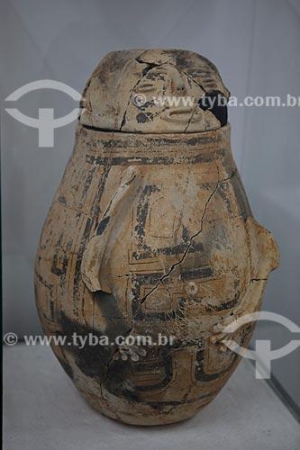 Assunto: Museu Sacaca - Urna funerária antropomorfa - Santo Antonio da Pedreira / Local: Macapá - Amapá (AP) - Brasil / Data: 04/2012