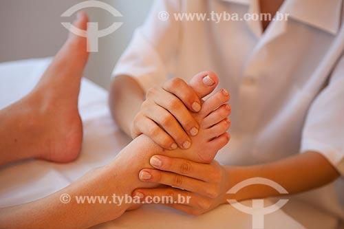 Assunto: Reflexoterapia podal / Local: Rio de Janeiro - Rio de Janeiro (RJ) - Brasil / Data: 05/2012