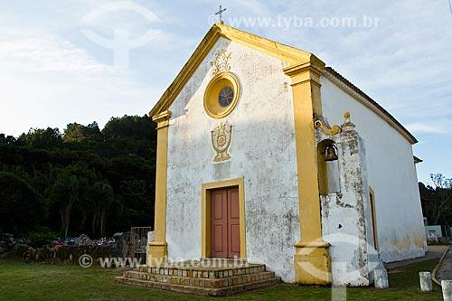 Assunto: Igreja Nossa Senhora da Piedade (1745) - Considerada como a primeira igreja construída no Estado de Santa Catarina / Local: Armação da Piedade - Governador Celso Ramos - Santa Catarina state (SC) - Brazil / Data: 07/2012