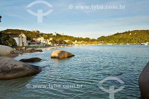 Assunto: Praia de Armação da Piedade / Local: Armação da Piedade - Governador Celso Ramos - Santa Catarina state (SC) - Brazil / Data: 07/2012