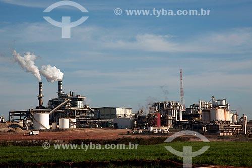 Assunto: Usina de açúcar e álcool Bunge na zona rural de Ouroeste / Local: Ouroeste - São Paulo (SP) - Brasil / Data: 08/2011