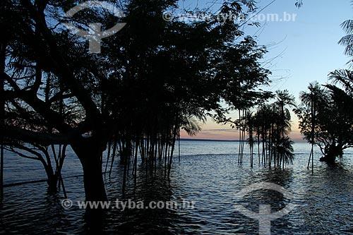 Assunto: Ponta Negra - Rio Negro - Hotel Tropical - Manaus - Período da cheia / Local:  / Data: 07/2012