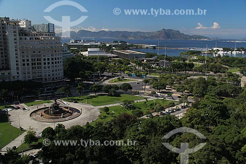Assunto: Praça Mahatma Gandhi / Local: Rio de Janeiro (RJ) - Brasil / Data: 05/2012
