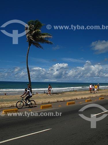 Assunto: Ciclovia na Praia da Armação / Local: Jardim Armação - Salvador - Bahia (BA) - Brasil / Data: 07/2012