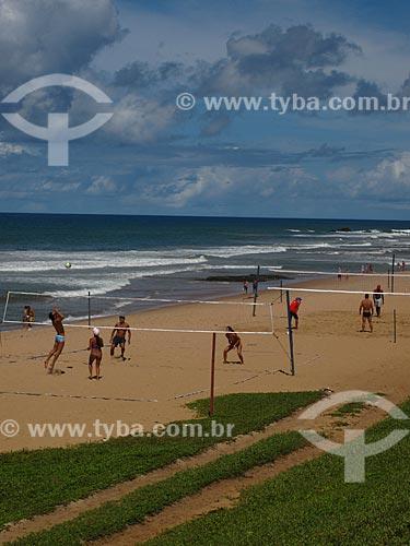 Assunto: Volei de Praia na Praia da Armação / Local: Jardim Armação - Salvador - Bahia (BA) - Brasil / Data: 07/2012