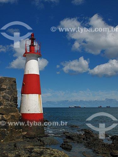 Assunto: Farol Monte Serrat (1935) / Local: Monte Serrat - Salvador - Bahia (BA) - Brasil / Data: 07/2012