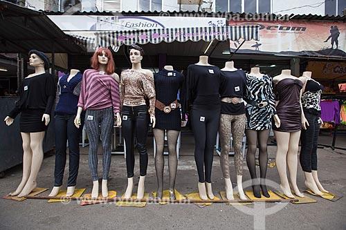 Assunto: Manequins em loja de roupas no Complexo da Maré / Local: Rio de Janeiro (RJ) - Brasil / Data: 06/2012