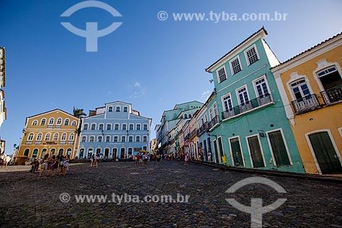 Assunto: Museu da Cidade, Fundação Casa de Jorge Amado e casarios históricos do Pelourinho / Local: Pelourinho - Salvador - Bahia (BA) - Brasil / Data: 07/2012