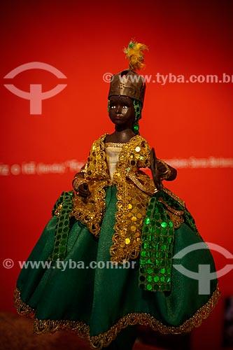 Assunto: Manequim com traje de Oxossi no Memorial das Baianas - Orixá do Candomblé da caça e da fartura / Local: Salvador - Bahia (BA) - Brasil / Data: 07/2012