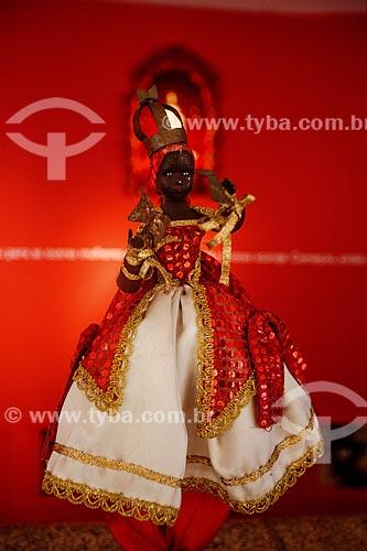 Assunto: Manequim com traje de Xangô no Memorial das Baianas - Orixá do Candomblé do fogo, trovão e da justiça / Local: Salvador - Bahia (BA) - Brasil / Data: 07/2012