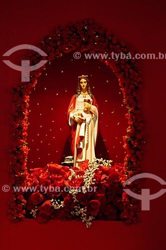 Assunto: Oratório de Santa Bárbara no Memorial das Bahianas na Praça da Cruz Caída  / Local: Salvador - Bahia (BA) - Brasil / Data: 07/2012