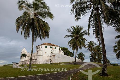 Assunto: Forte do Monte Serrat (1742) - também conhecido como Forte de São Felipe / Local: Monte Serrat - Salvador - Bahia (BA) - Brasil / Data: 07/2012