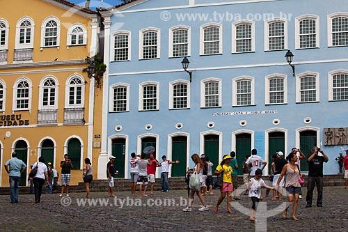 Assunto: Fachadas do Museu da Cidade e da Fundação Casa de Jorge Amado / Local: Salvador - Bahia (BA) - Brasil / Data: 07/2012