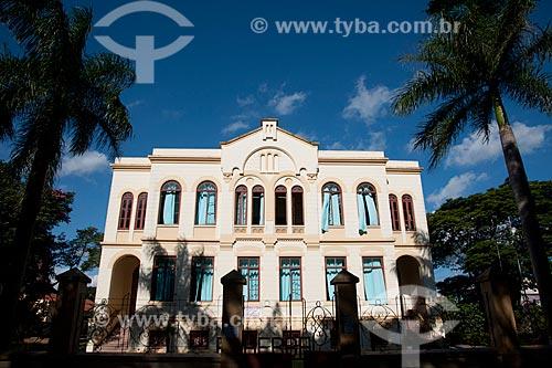 Assunto: Fachada da Escola Estadual Adherbal de Paula Ferreira / Local: Itapetininga - São Paulo (SP) - Brasil / Data: 02/2012