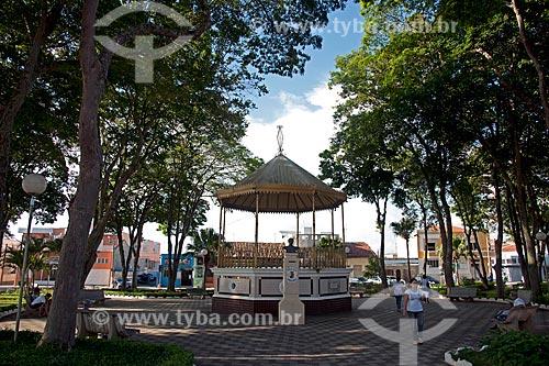 Assunto: Coreto na Praça Duque de Caxias / Local: Itapetininga - São Paulo (SP) - Brasil / Data: 02/2012