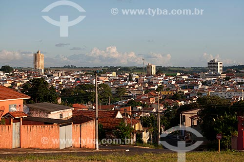 Assunto: Vista geral da cidade de Itapetininga / Local: Itapetininga - São Paulo (SP) - Brasil / Data: 01/2012