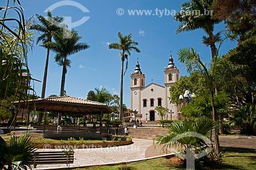 Assunto: Igreja Catedral de Santana - Na praça Anchieta / Local: Itapeva - São Paulo (SP) - Brasil / Data: 02/2012