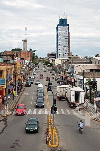 Assunto: Rua José Antônio de Campos / Local: Registro - São Paulo (SP) - Brasil / Data: 01/2012