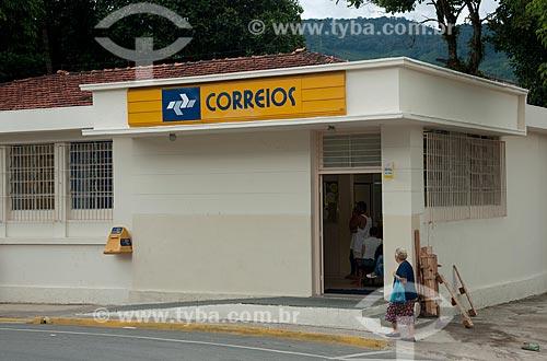 Assunto: Agência dos Correios na cidade de Miracatu / Local: Miracatu - São Paulo (SP) - Brasil / Data: 02/2012