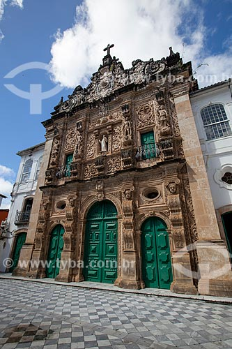 Assunto: Fachada da Igreja da Ordem Terceira de São Francisco (1703) / Local: Salvador - Bahia (BA) - Brasil / Data: 07/2012