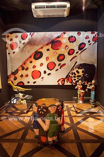 Assunto: Artesanatos de folguedos - Museu de Antropologia e Folclore Theo Brandão (1975) da Universidade Federal de Alagoas / Local: Maceió - Alagoas (AL) - Brasil / Data: 07/2012