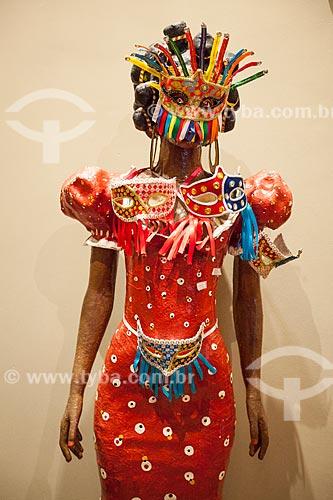 Assunto: Manequim com máscaras de carnaval no Museu de Antropologia e Folclore Theo Brandão (1975) da Universidade Federal de Alagoas / Local: Maceió - Alagoas (AL) - Brasil / Data: 07/2012