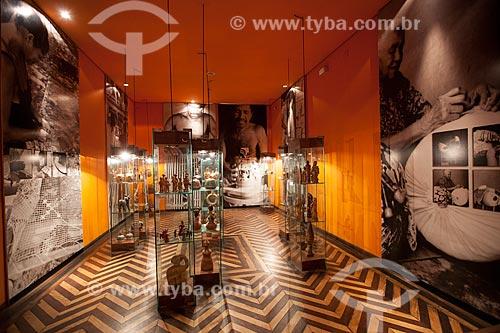 Assunto: Sala de Exposição do Museu de Antropologia e Folclore Theo Brandão (1975) da Universidade Federal de Alagoas - Objetos produzidos por artistas populares / Local: Maceió - Alagoas (AL) - Brasil / Data: 07/2012