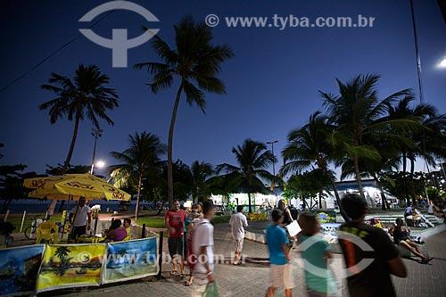 Assunto: Orla da Praia de Pajuçara / Local: Maceió - Alagoas (AL) - Brasil / Data: 07/2012