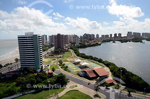 Assunto: Praia da Ponta da areia e Lagoa da Jansen  / Local: São Luís - Maranhão (MA) - Brasil / Data: 05/2012